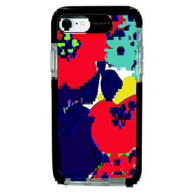 サムライワークス SAMURAI WORKS iPhone SE(第2世代)4.7インチ/8/7 Ultra Protect Case Plune. お花たち HF-CTI7S-2P01