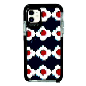 サムライワークス SAMURAI WORKS iPhone11 Ultra Protect Case Plune. OHANAネイビー Hash feat.#F HF-CTIXIR-2P04