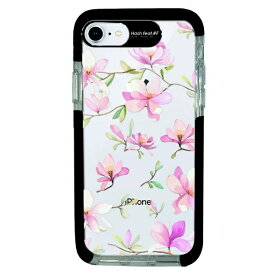 サムライワークス SAMURAI WORKS iPhone SE(第2世代)4.7インチ/8/7 Ultra Protect Case Bloem pink flower-CLR HF-CTI7S-2B06