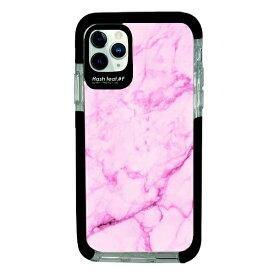 サムライワークス SAMURAI WORKS iPhone11Pro Ultra Protect Case Pink Marble Hash feat.#F HF-CTIXI-2M03
