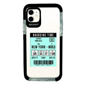 サムライワークス SAMURAI WORKS iPhone11 Ultra Protect Case Ticket-BLU Hash feat.#F HF-CTIXIR-2C03