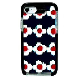 サムライワークス SAMURAI WORKS iPhone SE(第2世代)4.7インチ/8/7 Ultra Protect Case Plune. OHANAネイビー HF-CTI7S-2P04