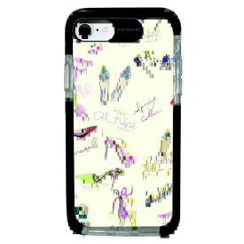 サムライワークス SAMURAI WORKS iPhone SE(第2世代)4.7インチ/8/7 Ultra Protect Case Plune. 靴の絵イエロー HF-CTI7S-2P09