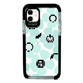 サムライワークス SAMURAI WORKS iPhone11 Ultra Protect Case Plune. 大きな水色お花 Hash feat.#F HF-CTIXIR-2P08