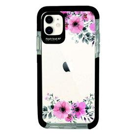 サムライワークス SAMURAI WORKS iPhone11 Ultra Protect Case Bloem Flower frame Hash feat.#F HF-CTIXIR-2B03