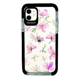 サムライワークス SAMURAI WORKS iPhone11 Ultra Protect Case Bloem pink flower-CLR Hash feat.#F HF-CTIXIR-2B06