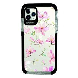 サムライワークス SAMURAI WORKS iPhone11Pro Ultra Protect Case Bloem pink flower-CLR Hash feat.#F HF-CTIXI-2B06