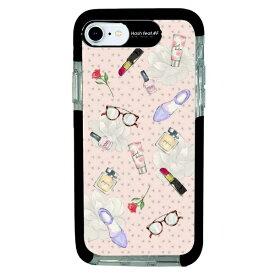 サムライワークス SAMURAI WORKS iPhone SE(第2世代)4.7インチ/8/7 Ultra Protect Case Bloem Cosme HF-CTI7S-2B07