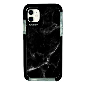 サムライワークス SAMURAI WORKS iPhone11 Ultra Protect Case Black Marble Hash feat.#F HF-CTIXIR-2M02