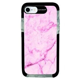 サムライワークス SAMURAI WORKS iPhone SE(第2世代)4.7インチ/8/7 Ultra Protect Case Pink Marble HF-CTI7S-2M03