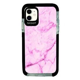 サムライワークス SAMURAI WORKS iPhone11 Ultra Protect Case Pink Marble Hash feat.#F HF-CTIXIR-2M03