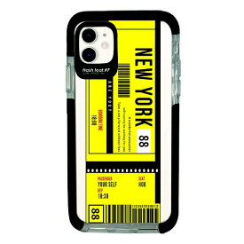 サムライワークス SAMURAI WORKS iPhone11 Ultra Protect Case Ticket-YEL Hash feat.#F HF-CTIXIR-2C01