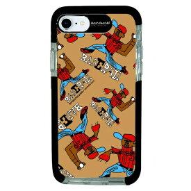 サムライワークス SAMURAI WORKS iPhone SE(第2世代)4.7インチ/8/7 Ultra Protect Case DOKUTOKU BASEBALL HF-CTI7S-2D02