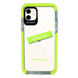 サムライワークス SAMURAI WORKS iPhone11 Ultra Protect Case Light Green logo Hash feat.#F HF-CTIXIR-03LG