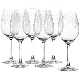Leonardo レオナルド 6P ホワイトワイン 410ml Chateau ガラス 061591