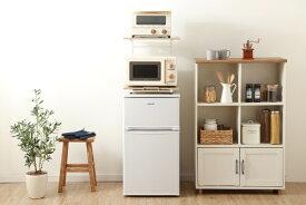 アイリスオーヤマ IRIS OHYAMA 冷蔵庫上ラック ホワイト/ ナチュラル RUR-480