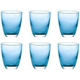 グッチーニ GUZZINI ツートングラス6P GRACE ブルー 29770081