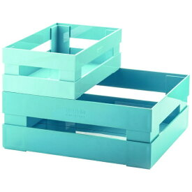 グッチーニ GUZZINI スタッキングボックス2P TIDY&STORE ブルー 169500189