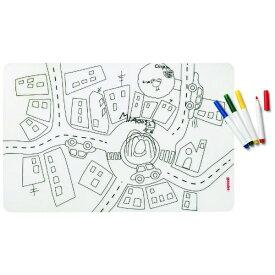 グッチーニ GUZZINI キッズプレイスマット&カラーペンセット TRAFFIC アソート 22609452