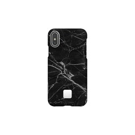 HAPPYPLUGS ハッピープラグス [iPhone X/XS専用]スリムケース IPHONE X.XS CASE BLACK MARBLE9327 ブラックマーブル