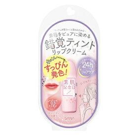 常盤薬品 TOKIWA Pharmaceutical SANA(サナ) 素肌記念日 フェイクヌードリップ 03(3) 〔リップクリーム〕