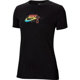 ナイキ NIKE レディース ナイキ ウィメンズ サマー ファン 1 Tシャツ(Lサイズ/ブラック) CU9696