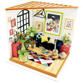 プラザクリエイト PLAZA CREATE DG106 リビングルーム|Robotime 日本公式販売/日本語説明書付 DIY ミニチュアハウス ドールハウス