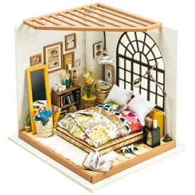 プラザクリエイト PLAZA CREATE DG107 ベッドルーム Robotime 日本公式販売/日本語説明書付 DIY ミニチュアハウス ドールハウス