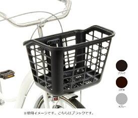 OGK フロントバスケット ポピュラーフロントバスケット(幅360x高さ260x奥行300mm/ブラック) FB-067