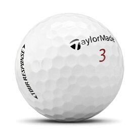 テーラーメイドゴルフ Taylor Made Golf ゴルフボール TOUR RESPOSE ホワイト [3球(1スリーブ) /スピン系]