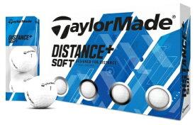 テーラーメイドゴルフ Taylor Made Golf ゴルフボール Distance+Soft ホワイト [12球(1ダース) /ディスタンス系]