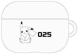 グルマンディーズ gourmandise ポケットモンスター AirPods Proソフトケース ピカチュウクリア POKE646B