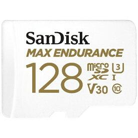 サンディスク SanDisk microSDXCカード UHS-I MAX ENDURANCE 高耐久 SDSQQVR-128G-JN3ID [128GB /Class10]