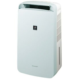 シャープ SHARP CM-L100-W 冷風・衣類乾燥除湿機 アイスホワイト系 [木造13畳まで /鉄筋25畳まで /コンプレッサー方式]