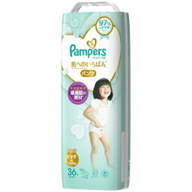 P&G ピーアンドジー 【パンツ】Pampers(パンパース)肌へのいちばん スーパージャンボ ビッグ(36枚)