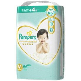 P&G ピーアンドジー 【テープ】Pampers(パンパース)はじめての肌へのいちばん ウルトラジャンボ Mサイズ(6kg-11kg) 66枚〔おむつ〕(66枚)