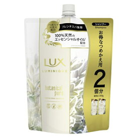 ユニリーバJCM Unilever LUX ルミニーク ボタニカルピュア シャンプー つめかえ用 700g 〔シャンプー〕