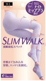 ピップ pip SLIM WALK(スリムウォーク)美脚美尻スパッツ ML 〔着圧ソックス〕 スリムウォーク