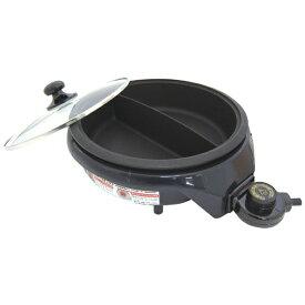 杉山金属 Sugiyama metal KS-2595 日本製 電気鍋 2色鍋 便利仕切グリルパン 23cm