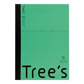 キョクトウアソシエイツ KYOKUTO Trees A4 B罫40枚 グリーン グリーン UTRBA4G