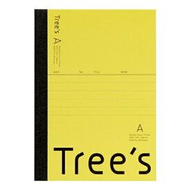 キョクトウアソシエイツ KYOKUTO Trees A6 A罫48枚 イエロー イエロー UTRAA6Y