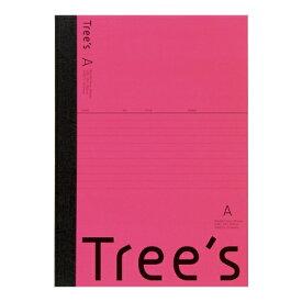 キョクトウアソシエイツ KYOKUTO Trees B5 A罫30枚 ピンク ピンク UTR3AP