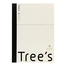 キョクトウアソシエイツ KYOKUTO Trees B5 A罫30枚 クリーム クリーム UTR3AC
