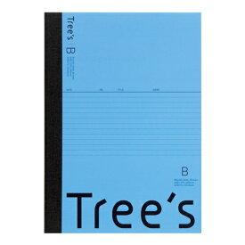 キョクトウアソシエイツ KYOKUTO Trees B5 B罫30枚 ライトブルー ライトブルー UTR3BLB