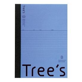 キョクトウアソシエイツ KYOKUTO Trees B5 B罫30枚 ネイビー ネイビー UTR3BNB