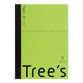 キョクトウアソシエイツ KYOKUTO Trees B5 B罫30枚 ライトグリーン ライトグリーン UTR3BLG