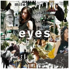 【2020年05月13日発売】 ソニーミュージックマーケティング milet/ eyes 初回生産限定盤B【CD】