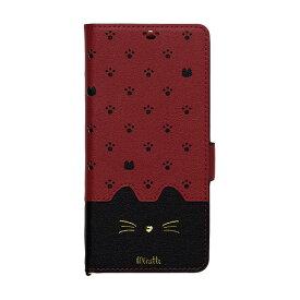 ナチュラルデザイン NATURAL design Galaxy A20専用手帳型ケース Minette Red-Black GA20-MIN08