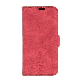 ナチュラルデザイン NATURAL design AQUOS sense3専用手帳型ケース Style Natural Red AQS3-VS05