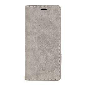 ナチュラルデザイン NATURAL design Xperia 8専用手帳型ケース Style Natural Gray Xp8-VS01